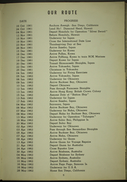 Page 9, 1962 Edition, Washburn (AKA 108) - Naval Cruise Book online yearbook collection