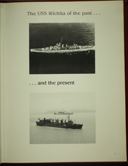 Page 7, 1987 Edition, Wichita (AOR 1) - Naval Cruise Book online yearbook collection