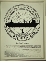 Page 5, 1990 Edition, Wichita (AOR 1) - Naval Cruise Book online yearbook collection