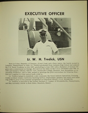 Page 7, 1967 Edition, Wilhouite (DER 397) - Naval Cruise Book online yearbook collection