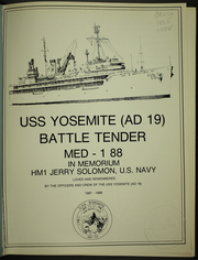 Page 5, 1988 Edition, Yosemite (AD 19) - Naval Cruise Book online yearbook collection