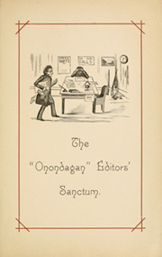 Page 13, 1886 Edition, Syracuse University - Onondagan Yearbook (Syracuse, NY) online yearbook collection