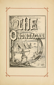Page 9, 1886 Edition, Syracuse University - Onondagan Yearbook (Syracuse, NY) online yearbook collection