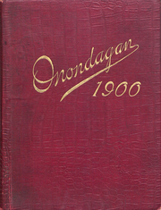 Page 1, 1900 Edition, Syracuse University - Onondagan Yearbook (Syracuse, NY) online yearbook collection