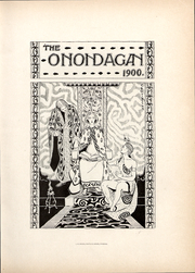 Page 11, 1900 Edition, Syracuse University - Onondagan Yearbook (Syracuse, NY) online yearbook collection
