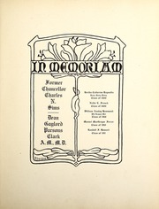 Page 17, 1909 Edition, Syracuse University - Onondagan Yearbook (Syracuse, NY) online yearbook collection