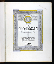 Page 7, 1910 Edition, Syracuse University - Onondagan Yearbook (Syracuse, NY) online yearbook collection
