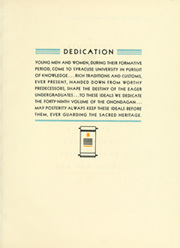 Page 11, 1932 Edition, Syracuse University - Onondagan Yearbook (Syracuse, NY) online yearbook collection
