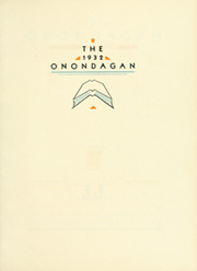 Page 7, 1932 Edition, Syracuse University - Onondagan Yearbook (Syracuse, NY) online yearbook collection