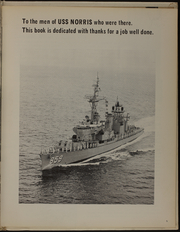 Page 7, 1969 Edition, Norris (DD 859) - Naval Cruise Book online yearbook collection