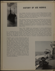 Page 8, 1969 Edition, Norris (DD 859) - Naval Cruise Book online yearbook collection