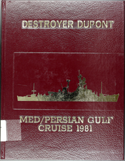 1981 Edition, Du Pont (DD 941) - Naval Cruise Book