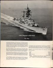 Page 6, 1981 Edition, Du Pont (DD 941) - Naval Cruise Book online yearbook collection