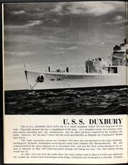 Page 6, 1958 Edition, Duxbury Bay (AVP 38) - Naval Cruise Book online yearbook collection