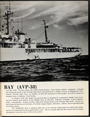 Page 7, 1958 Edition, Duxbury Bay (AVP 38) - Naval Cruise Book online yearbook collection