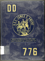Page 1, 1967 Edition, James C Owens (DD 776) - Naval Cruise Book online yearbook collection