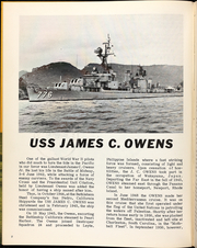Page 6, 1968 Edition, James C Owens (DD 776) - Naval Cruise Book online yearbook collection