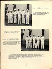 Page 16, 1963 Edition, John Bole (DD 755) - Naval Cruise Book online yearbook collection