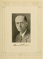 Page 15, 1927 Edition, James Madison University - Bluestone Schoolmaam Yearbook (Harrisonburg, VA) online yearbook collection