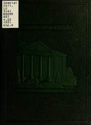 James Madison University - Bluestone Schoolmaam Yearbook (Harrisonburg, VA) online yearbook collection, 1931 Edition, Page 1