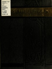 James Madison University - Bluestone Schoolmaam Yearbook (Harrisonburg, VA) online yearbook collection, 1935 Edition, Page 1