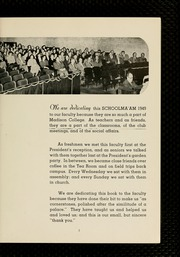 Page 9, 1949 Edition, James Madison University - Bluestone Schoolmaam Yearbook (Harrisonburg, VA) online yearbook collection