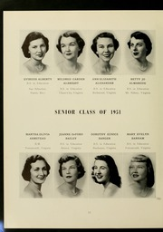Page 16, 1951 Edition, James Madison University - Bluestone Schoolmaam Yearbook (Harrisonburg, VA) online yearbook collection