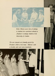 Page 10, 1956 Edition, James Madison University - Bluestone Schoolmaam Yearbook (Harrisonburg, VA) online yearbook collection