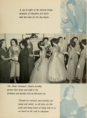 Page 13, 1956 Edition, James Madison University - Bluestone Schoolmaam Yearbook (Harrisonburg, VA) online yearbook collection