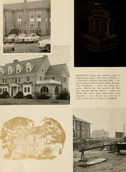 Page 10, 1957 Edition, James Madison University - Bluestone Schoolmaam Yearbook (Harrisonburg, VA) online yearbook collection