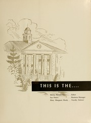 Page 5, 1957 Edition, James Madison University - Bluestone Schoolmaam Yearbook (Harrisonburg, VA) online yearbook collection