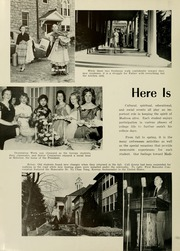 Page 16, 1958 Edition, James Madison University - Bluestone Schoolmaam Yearbook (Harrisonburg, VA) online yearbook collection
