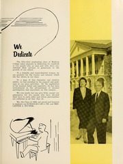 Page 17, 1960 Edition, James Madison University - Bluestone Schoolmaam Yearbook (Harrisonburg, VA) online yearbook collection