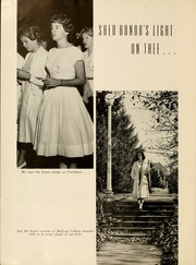 Page 8, 1961 Edition, James Madison University - Bluestone Schoolmaam Yearbook (Harrisonburg, VA) online yearbook collection
