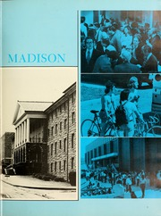 Page 9, 1973 Edition, James Madison University - Bluestone Schoolmaam Yearbook (Harrisonburg, VA) online yearbook collection