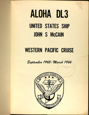 Page 6, 1966 Edition, John McCain (DL 3) - Naval Cruise Book online yearbook collection