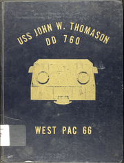 Page 1, 1966 Edition, John Thomason (DD 760) - Naval Cruise Book online yearbook collection