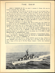 Page 7, 1966 Edition, John Thomason (DD 760) - Naval Cruise Book online yearbook collection
