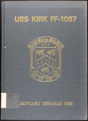 Page 1, 1986 Edition, Kishwauke (AOG 9) - Naval Cruise Book online yearbook collection