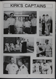 Page 10, 1986 Edition, Kishwauke (AOG 9) - Naval Cruise Book online yearbook collection
