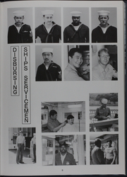 Page 14, 1986 Edition, Kishwauke (AOG 9) - Naval Cruise Book online yearbook collection