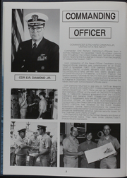 Page 7, 1986 Edition, Kishwauke (AOG 9) - Naval Cruise Book online yearbook collection