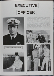 Page 8, 1986 Edition, Kishwauke (AOG 9) - Naval Cruise Book online yearbook collection