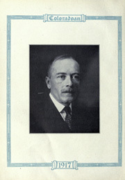 Page 12, 1917 Edition, University of Colorado - Coloradan Yearbook (Boulder, CO) online yearbook collection