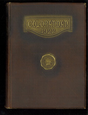 University of Colorado - Coloradan Yearbook (Boulder, CO) online yearbook collection, 1922 Edition, Page 1