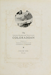 Page 7, 1928 Edition, University of Colorado - Coloradan Yearbook (Boulder, CO) online yearbook collection