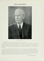 Page 17, 1936 Edition, University of Colorado - Coloradan Yearbook (Boulder, CO) online yearbook collection