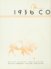 Page 8, 1936 Edition, University of Colorado - Coloradan Yearbook (Boulder, CO) online yearbook collection