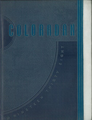 Page 1, 1938 Edition, University of Colorado - Coloradan Yearbook (Boulder, CO) online yearbook collection