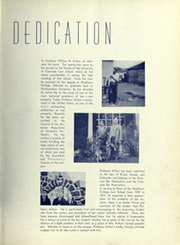 Page 11, 1938 Edition, University of Colorado - Coloradan Yearbook (Boulder, CO) online yearbook collection